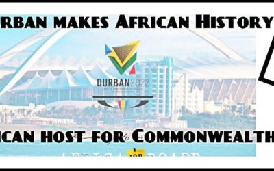 11 000 jobs after Durban makes African History | First African Host for Commonwealth Games